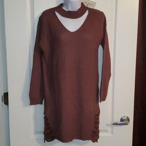 Say What sweater dress sz Small new